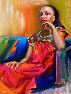 Athena - Portrait; Fine Art Prints by Talya Johnson