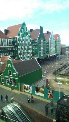Zaandam, gemeentehuis, The Netherlands