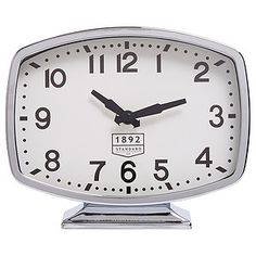 The Danny wall clock is styled to reflect the rich history of Australia. The 1892 standard pays homage to the year that we officially adopted Grenwich. Big Girl Rooms, Clock, Table, Australia, Accessories, History, Watch, Clocks, Historia