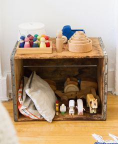 baby proof: toy storage. – Reading My Tea Leaves – Slow, simple, sustainable living.