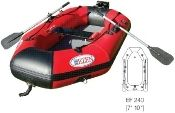 "EZEN EF240 7'10"" Lightweight Inflatable Raft Two Person Fishing Boat. EZEN boats are easy to assemble and comfortable to transport making EZEN the practical solution to all your inflatable boating needs. EZEN constantly is searching for new technology to improve quality, performance and safety."