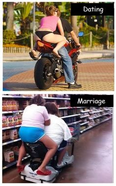 About right marriage humor, dating humor, relationship memes, haha funny, f Dating Humor, Funny Dating Quotes, Jokes Quotes, Haha Funny, Funny Jokes, Funniest Jokes, Fun Funny, Silly Pictures, Silly Pics