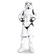 Disney Stormtrooper Costume for Kids - Star Wars Size XS Size 4 @ niftywarehouse.com #NiftyWarehouse #Nerd #Geek #Entertainment #TV #Products