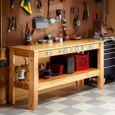 12 Super-Simple Workbenches You Can Build