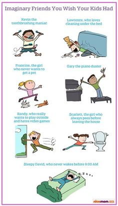 Imaginary Friends You Wish Your Kids Had | More LOLs & Funny Stuff for Moms | NickMom