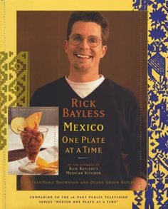 Guacamole y Horchata, courtesy of Rick Bayless's Mexico One Plate at a Time