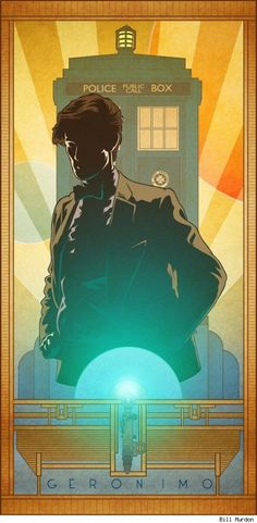 Look out, Minime > Dr. Who and Art Deco posters,  Go To www.likegossip.com to get more Gossip News!