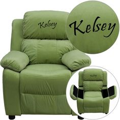 Personalized Avo Kids Recliner