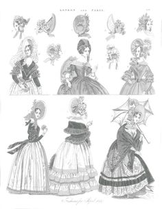 Reimagining 1800's fashions makes for a fun day at work! #ColorOurCollections