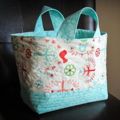 Learn how to make this cute and functional fabric basket with this detailed tutorial!