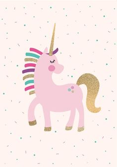 Unicorn Party Game Pin the Horn on the Unicorn Party Games