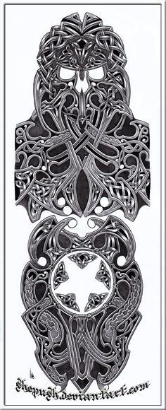 celtic sleeve by shepush.deviantart.com on @deviantART