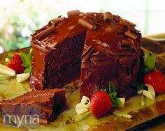 Odd eats: A caramelized onion chocolate cake recipe - Myria