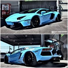 Liberty Walk Aventador - 10 of the Wildest Cars from the 2014 SEMA Show. Prepare to be blown away! #spon #supercars