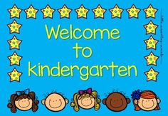 This Welcome to Kindergarten poster is intended to use for teachers starting the school year with a positive vibe! It is in a PDF format, easy to download, easy to print. Size A4