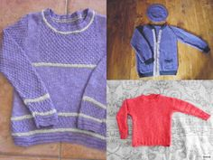 Beautiful and functional designs for children. Do-it-yourself - knitting patterns from domoras