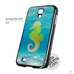 Seahorse Underwater Phone Case For Apple, iPhone 4, 4S, 5, 5S, 5C, 6, 6 +, iPod, 4 / 5, iPad 3 / 4 / 5, Samsung, Galaxy, S3, S4, S5, S6, Note, HTC, HTC One, HTC One X, BlackBerry, Z10