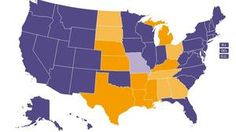 Explore changes in gay marriage laws since 2000