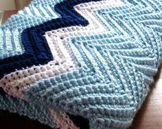 chevron pattern crochet blanket - Google Search