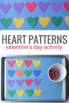 50 Easy Valentine's Day Crafts & Activities for Preschoolers – The Thrifty Kiwi - Valentinstag ideen Valentines Day Crafts For Preschoolers, Preschool Valentine Crafts, Valentine's Day Crafts For Kids, Valentines Day Activities, Valentines For Kids, Preschool Activities, Valentine Party, Toddler Crafts, Kiwi
