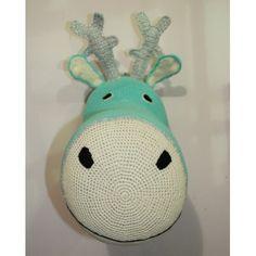 ANNE CLAIRE PETIT - trophée renne turquoise