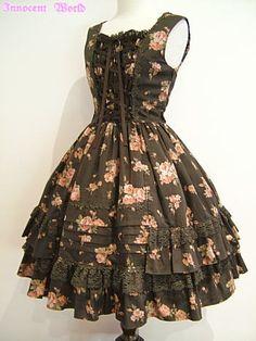 Innocent World / Jumper Skirt / Antique Rose JSK