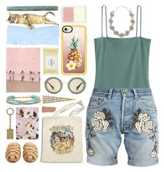 """phuket"" by foundlostme ❤ liked on Polyvore featuring Sydney Evan, H&M, Bliss and Mischief, The Row, Dolce&Gabbana, Alexander McQueen, Chan Luu, Miu Miu, Zone and Casetify"