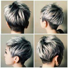 34 coupes pixies avec une frange asymétrique qui vont vous faire craquer ! - Tendance coiffure