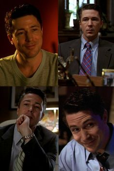 Aidan Gillen as Tommy Carcetti in The Wire.