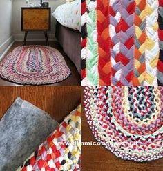 Trasformare vecchie magliette in un tappeto - DimmiCosaCerchi.it