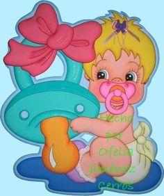 Patrones De Foamy Para Tu Baby Shower Bs.F.50 Tkgzv - Precio D Venezuela