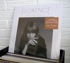 #FLORENCEandTheMachine #FlorenceWelch #vinyl #records #WildHoneyRecords