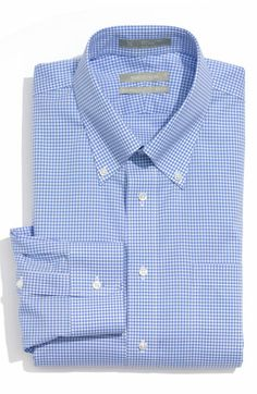 Nordstrom Smartcare™ Wrinkle Free Traditional Fit Gingham Dress Shirt available at #Nordstrom