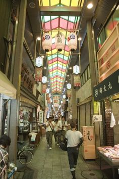 """Called the """"kitchen of Kyoto"""" there is a saying in Kyoto, """"there is no kind of food that you can't find at Nishiki."""""""