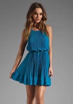 NWOT Praisewear Flyer Top Overdress Wrap Tunic TieDye Ladies Small sky blues