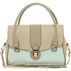 Oasis Clean Barrel Bag In Colourblock