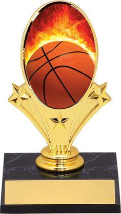 Free Lettering Desktop Series Hoop Shoot Basket Fantasy Basketball Trophy