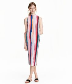 Pleated Dress   Black   Ladies   H&M US