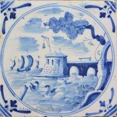 London Delft circa 1750