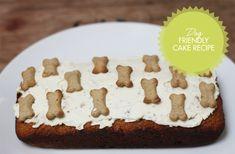Dog friendly cake, dog birthday cake