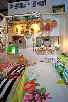 Chambre Pop tropique