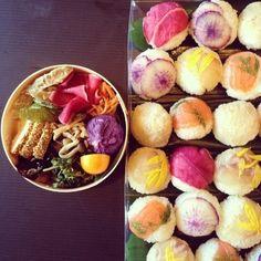お惣菜と手まり寿司, Momoegohan #food