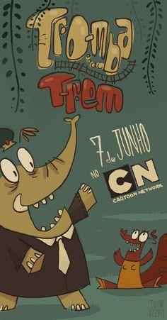 #cartoonnetwork #brasil #animacao #desenho #trombatrem #trunktrain