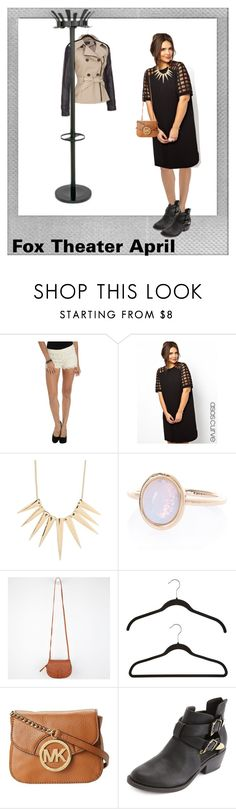 """""""This IS Theater!"""" by brittany-woods ❤ liked on Polyvore featuring Wet Seal, ASOS, Sparkling Sage, River Island, Wilsons Leather, Roxy, MICHAEL Michael Kors, Charlotte Russe and Polaroid"""