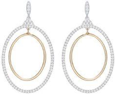 Armenta Crivelli Two-Tone Diamond Oval Earrings qAVkc