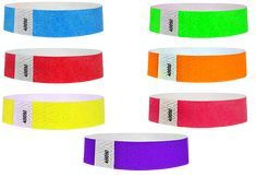 Assorted Color Carnival Wristbands