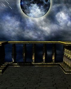 The Balcony by ~Moonglowlilly on deviantART