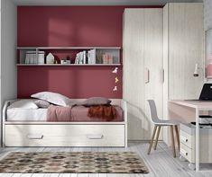 Cama compacta con arrastre - Muebles Ros