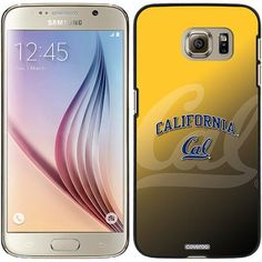 UC Berkeley Cal Watermark Yellow Design on Samsung Galaxy S6 Snap-on Case