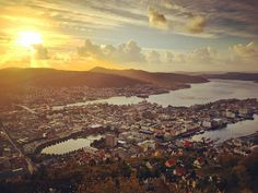 Bergen Norway's Second City and the Gateway to the Fjords. Photo by @badxmesong on Instagram.